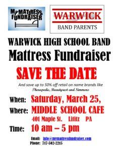 Save the date Warwick